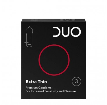 DUO EXTRA THIN ΠΡΟΦΥΛΑΚΤΙΚΑ 3τεμ.
