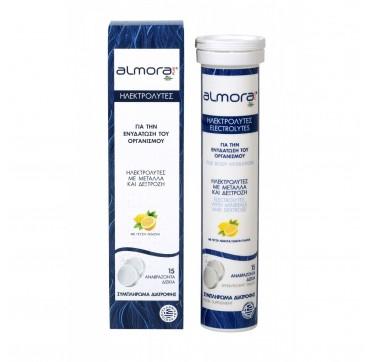 Almora Plus Ηλεκτρολύτες Για Ενυδάτωση Του Οργανισμού Γεύση Λεμονί 15eff Tabs
