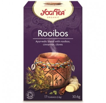 YOGI TEA ROOIBOS TEA 17 teabags