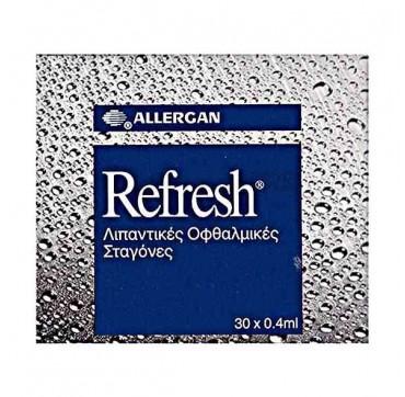 Allergan Refresh Ud Λιπαντικές Οφθαλμικές Σταγόνες 30x0. 4ml