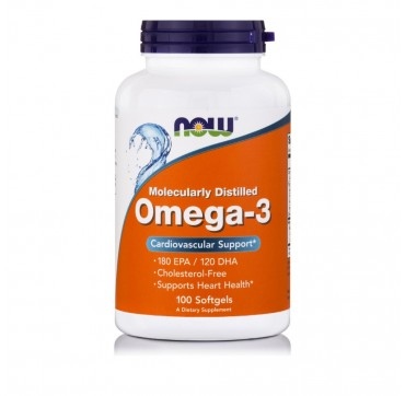 NOW OMEGA-3 100SOFTGELS