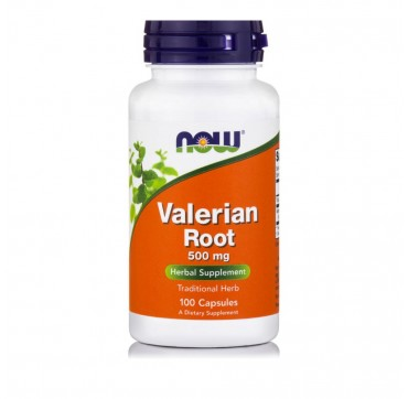 NOW VALERIAN ROOT 500MG 100VEG CAPS