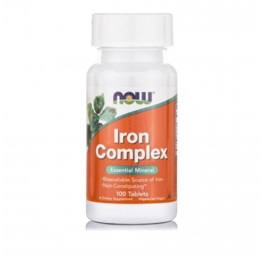 Now Iron Complex 100tabs