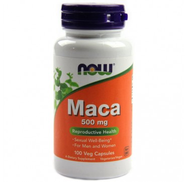 NOW MACA 500MG 100VEG CAPS