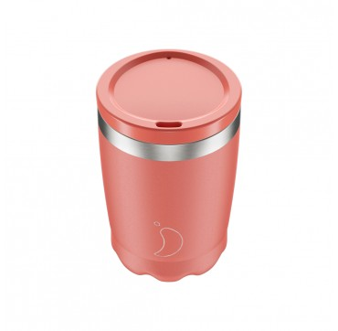 CHILLY'S COFFEE CUP PINK PASTEL 340ML