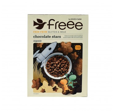 Green Bay Doves Farm Δημητριακά Chocolate Stars 300g