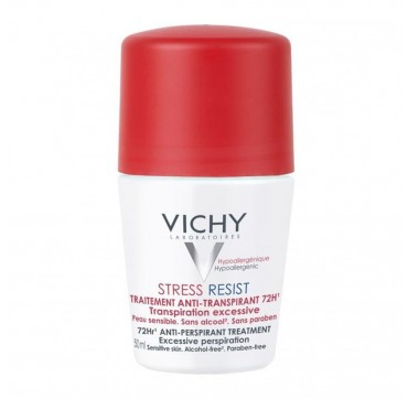 Vichy Deodorant Stress Resist Roll - On 72hrs 50ml