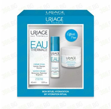 URIAGE PROMO EAU THERMALE WATER CREAM & ΔΩΡΟ SERUM 10ML + SLEEPING MASK 15ML
