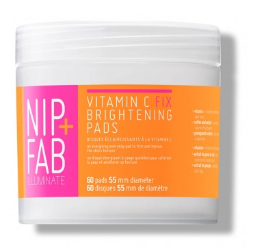 NIP+FAB ILLUMINATE VITAMIN C FIX BRIGHTENING PADS 60 PADS