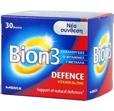 Merck Bion 3 Defence Vitamin D & Zinc 30 Tabs