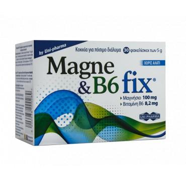 UNI-PHARMA MAGNE & B6 FIX 30ΦΑΚ