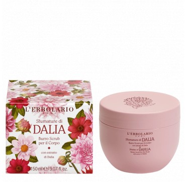 L' Erbolario Dalia Body Butter Scrub 150ml
