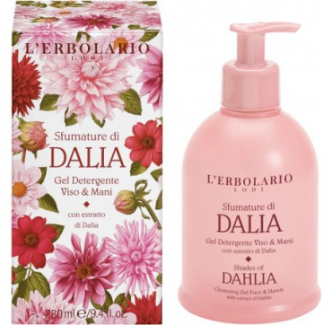 L' ERBOLARIO DALIA CLEANSING GEL FACE & HANDS 280ML