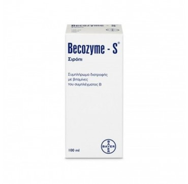 Bayer Becozyme S Σιρόπι 100ml