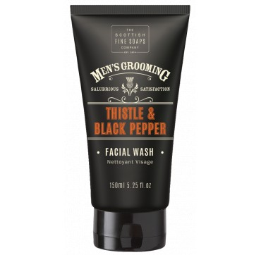 THE SCOTTISH FINE SOAPS MEN'S GROOMING Thistle & Black Pepper Facial Wash 150ml