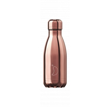 CHILLY'S BOTTLE ROSE GOLD SPECIAL EDITION REUSABLE BOTTLE ΑΝΟΞΕΙΔΩΤΟ ΘΕΡΜΟΣ 260ML