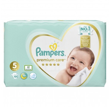PAMPERS PREMIUM CARE JUMBO BOX No5 (11-16kg) 44 TMX.
