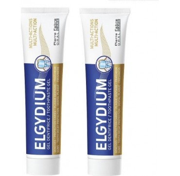 Elgydium Multi-action Toothpaste 2x75ml