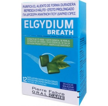 ELGYDIUM BREATH PASTILLES 12TMX