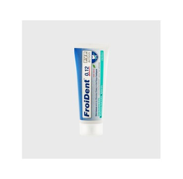 FROIDENT TOOTHPASTE CHLORHEXIDINE 0,12% PVP ACTION 75ML