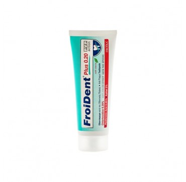 FROIDENT TOOTHPASTE CHLORHEXIDINE 0,2% PVP ACTION 75ML