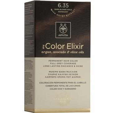 Apivita My Color Elixir 6.35 Ξανθό Σκούρο Μελί Μαονί 1TMX