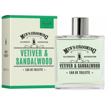 THE SCOTTISH FINE SOAPS MEN'S GROOMING Vetiver & Sandalwood Eau de Toilette 100ml