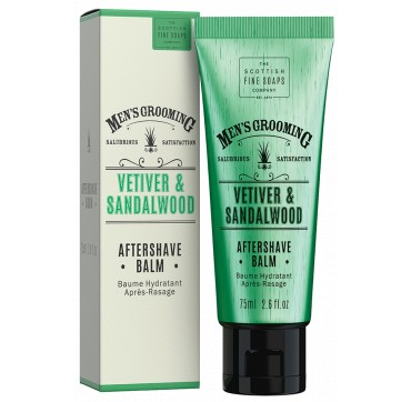 THE SCOTTISH FINE SOAPS MEN'S GROOMING Vetiver & Sandalwood Aftershave Balm 75ml