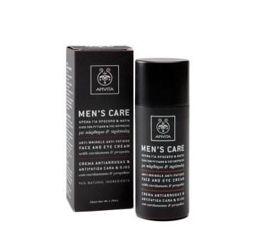 Apivita Men's Care Krema Για Πρόσωπο Ρυτίδες 50ml