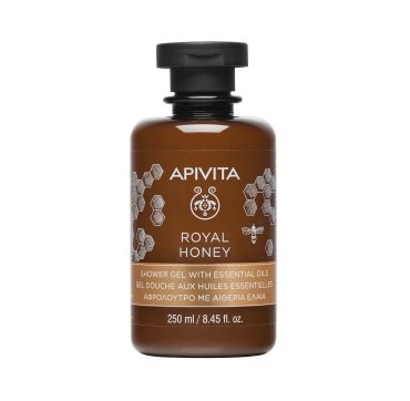 Apivita Royal Honey Shower Gel With Essential Oils Αφρόλουτρο Με Αιθερία Ελαία 250ml