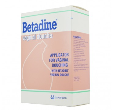 Betadine Vaginal Douche Συσκευή Για Κολπικές Πλυσεισ