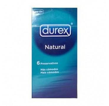 Durex Natural Προφυλακτικά 6τεμ.