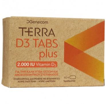 Genecom Terra D3 Plus 2000iu 60 Tabs