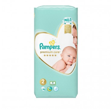Pampers Premium Care No2 (4-8kg) 46τμχ