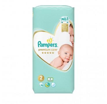 Pampers Premium Care No2 (4-8kg) 46τμχ