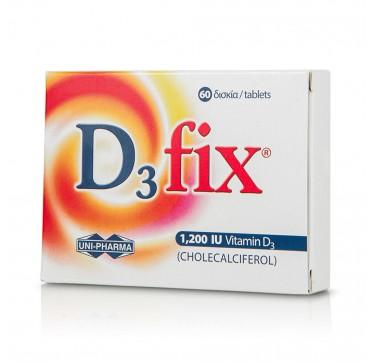 Uni-pharma D3 Fix 1200iu 60tabs