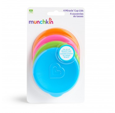 MUNCHKIN 4 MIRACLE CUP LIDS (51771) 4ΤΜΧ