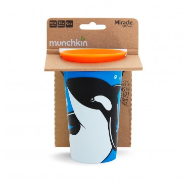 Munchkin Miracle 360 Cup Orca (51778) 12m+ 266ml