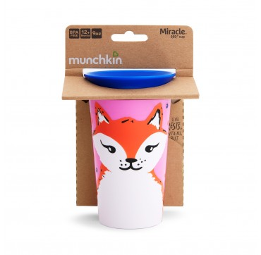 MUNCHKIN MIRACLE 360 CUP FOX (51777) 12m+ 266ML