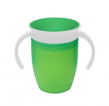 MUNCHKIN MIRACLE 360 TRAINER CUP GREEN (12443) 6m+ 207ML
