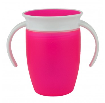 MUNCHKIN MIRACLE 360 TRAINER CUP PINK (12272) 6m+ 207ML