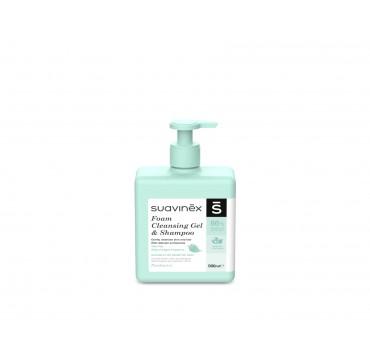 Suavinex Foam Cleansing Gel & Shampoo Αφρόλουτρο Για Σώμα & Μαλλιά 500ml