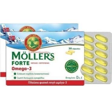 Moller's Forte Omega-3 30 CAPS