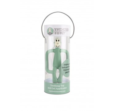Matchstick Monkey Teething Toy And Gel Applicator Mint 1τμχ