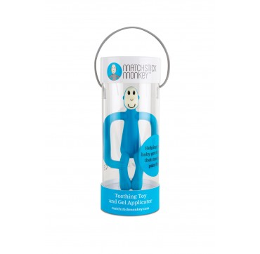 Matchstick Monkey Teething Toy And Gel Applicator Blue 1τμχ