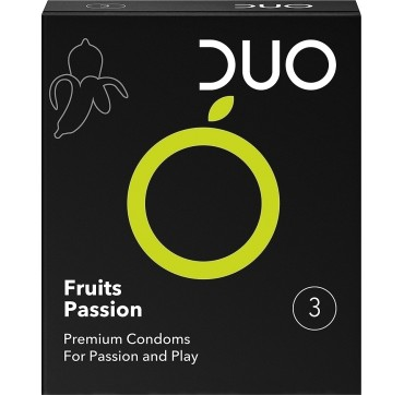 Duo Fruits Passion Προφυλακτικά 3τεμ.