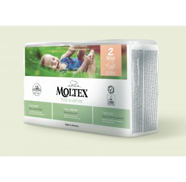 MOLTEX PURE & NATURE No2 MINI (3-6kg) 38ΤΜΧ