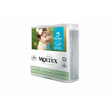 Moltex Pure & Nature No5 Junior (11-25kg) 25τμχ