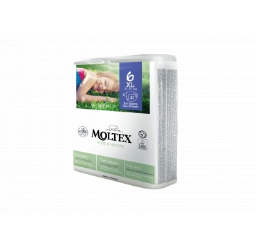 MOLTEX PURE & NATURE No6 XL (16-30kg) 21ΤΜΧ