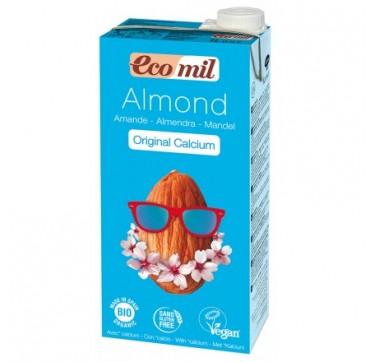 Ecomil Βιο Almond Milk Ρόφημα Αμυγδάλου Με Ασβέστιο Και Σιρόπι Αγαύης 1lτ